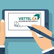 Bảng Giá Đăng Ký Dịch Vụ Chữ Ký Số Viettel CA