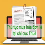 Cá nhân có được mua hóa đơn GTGT tại chi cục thuế hay không?
