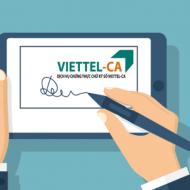Hướng dẫn xem thông tin, kiểm tra thời hạn chữ ký số Viettel